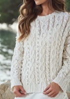 Design: Cable bobble Sweater