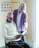 Design: Easy Aran Knits Cover Shot