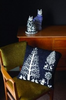 Design: Enchanted forest cushion