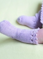 Design: Imogen Picot socks