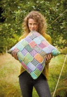 Design: Jaunty Weave Cushion