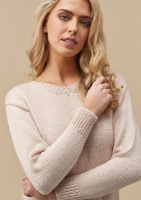 Design: Skyler Sweater V-neck Pink