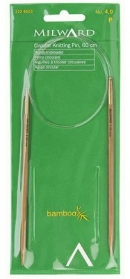 Bamboo Circular Knitting Needles 80 cms size 10 mm