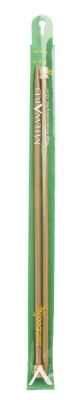 Bamboo Single Point Knitting Needles 5.5 - 9 mm